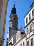 Campanario histórico en Goerlitz foto de archivo libre de regalías
