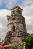 Campanario histórico hecho de la ciudad de Coral Stones - de Dumaguete, Negros Oriental, Filipinas Imagen de archivo libre de regalías