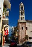 Campanario, Nafplion, Grecia foto de archivo