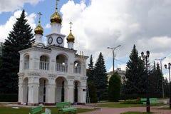 Campanario ortodoxo imagenes de archivo