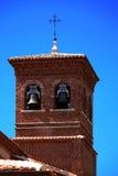 Campanario San Sebastian Martir immagini stock libere da diritti