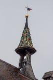 Campanary Stein am Rhein Switzerland Royalty Free Stock Images