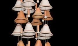 Campanas colombianas de la artesanía Imagen de archivo libre de regalías