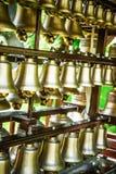 Campanas de bronce Fotos de archivo