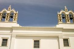 4 campanas de iglesia Foto de archivo libre de regalías