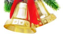 Campanas de la Navidad Imágenes de archivo libres de regalías