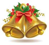 Campanas de la Navidad Foto de archivo libre de regalías