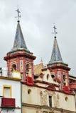 Campanas de la torre en Sevilla Imágenes de archivo libres de regalías
