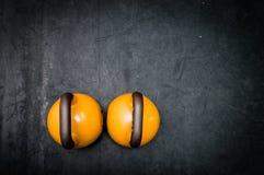 Campane del bollitore sul pavimento della palestra Fotografia Stock