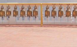 Campane dell'oro immagine stock