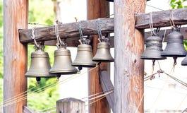 Campane di chiesa al giorno Immagine Stock