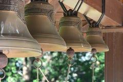 Campane di chiesa all'aperto Fotografia Stock