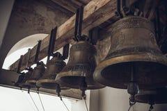 Campane di chiesa russe Immagine Stock