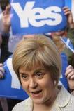 Campanha do referendo de 2014 Scottish Imagens de Stock
