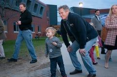 Campanhas de Scott Brown em New Hampshire Imagens de Stock Royalty Free
