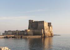 Campania Napoli di Europa del castello di Dell'ovo Fotografia Stock Libera da Diritti
