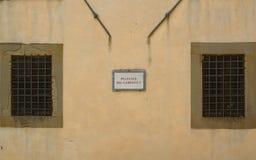 Campanil cuadrado Fotografía de archivo libre de regalías