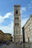 Campanil de Giottos en Florencia - Italia foto de archivo libre de regalías