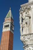 Campanil de San Marco Fotografía de archivo libre de regalías