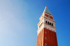 Campanil de Venecia Imagen de archivo libre de regalías