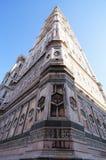 Campanil, el campanario de Giotto Imágenes de archivo libres de regalías