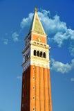 Campanil en Venecia Foto de archivo libre de regalías