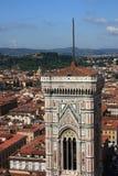 Campanila à Florence Photos libres de droits
