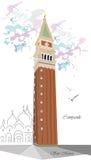 campanile Foto de archivo