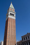 Campanile. Bell tower in San Marco square, Venice Stock Photography