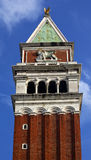 Campanile Bell Tower St Mark's Lion Venice Stock Photo