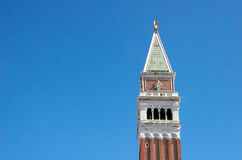 Campanile - Bell Tower in Venezia Royalty Free Stock Photography