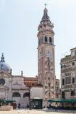 Campanile of chiesa Santa Maria Formosa Royalty Free Stock Photography