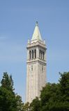 Campanile Clock Tower. Berkeley, California Stock Image