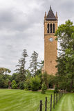 The Campanile Clock Tower at Iowa State University Stock Image