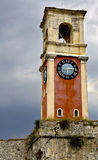 Campanile at Corfu, Greece. (near by the old fortress Stock Images