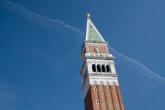 Campanile de Venise Photo stock
