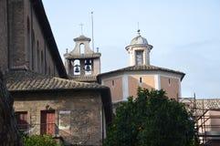 Campanile del all'Aventino di Santa Sabina Immagine Stock Libera da Diritti