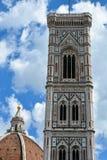 Campanile del duomo, Firenze, Italia Fotografie Stock Libere da Diritti