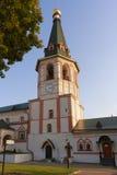 Campanile del monastero di Valday Iversky, che è Mo ortodosso russo Fotografia Stock Libera da Diritti