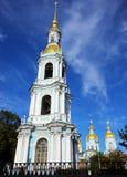 Campanile del san Nicholas Naval Cathedral Immagini Stock