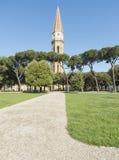 Campanile della cattedrale Arezzo Italia toscana Europa Fotografie Stock