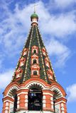 Campanile della cattedrale del basilico della st Fotografie Stock