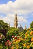 Campanile della cattedrale del ` s di St Stephen, Vienna fotografie stock