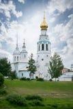 Campanile della cattedrale della st Sophia Cathedral in Vologda immagini stock