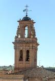 Campanile della chiesa di Almansa Fotografia Stock Libera da Diritti
