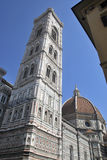 Campanile detail in Firenze Stock Photography
