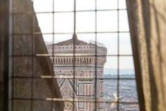 Campanile di佛罗伦萨Giotto  库存照片