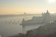 从Campanile di圣Marco的看法在威尼斯 免版税库存照片