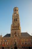 Campanile di Bruges Fotografia Stock Libera da Diritti