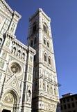 campanile di duomo e giotto 库存图片